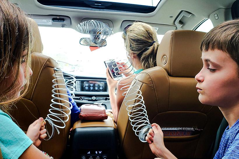 Gadgets para un viaje divertido con niños