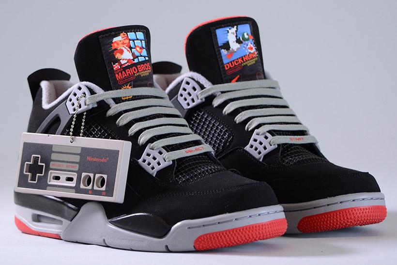 Nike y Nintendo se unen para crear los Air Jordan NES IV Retro