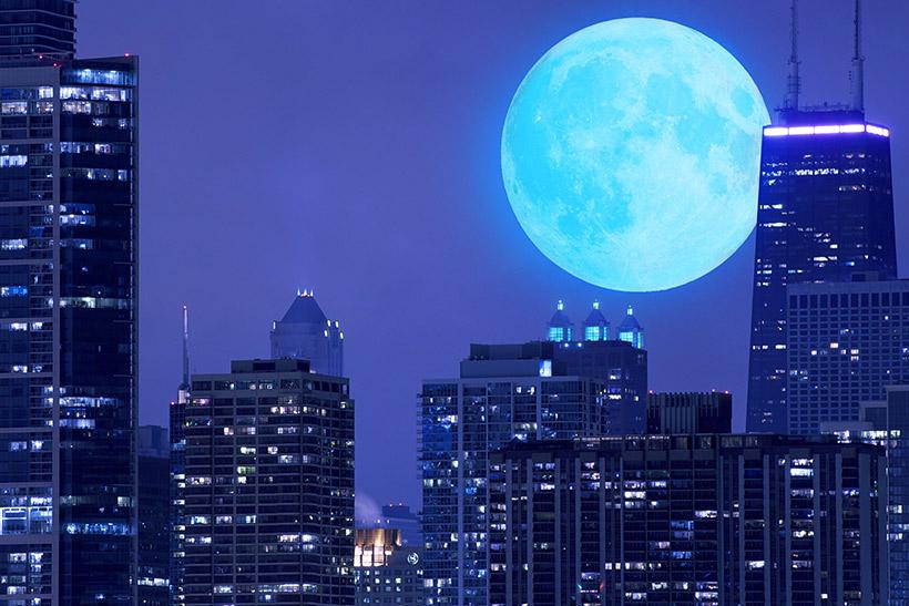 De las lunas, la de octubre es más hermosa