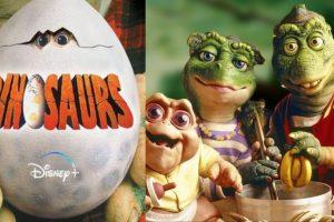 Disney + le apuesta a la nostalgia con Dinosaurios