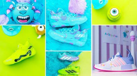 Adidas y Pixar lanzan una increíble colección por sus 20 años