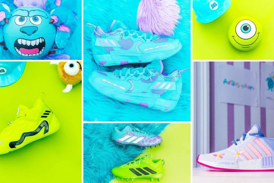 Adidas y pixar lanzan una colección de monster Inc